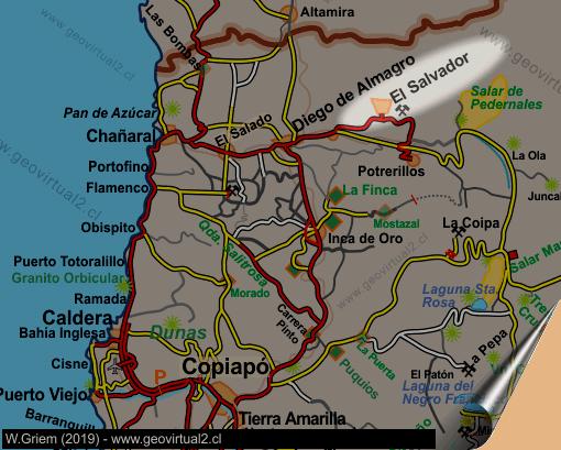 El Salvador In Der Chilenischen Atacamawüste
