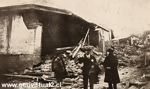 Sieberg Y Gutenberg Describen El Sismo De 1922 En Atacama