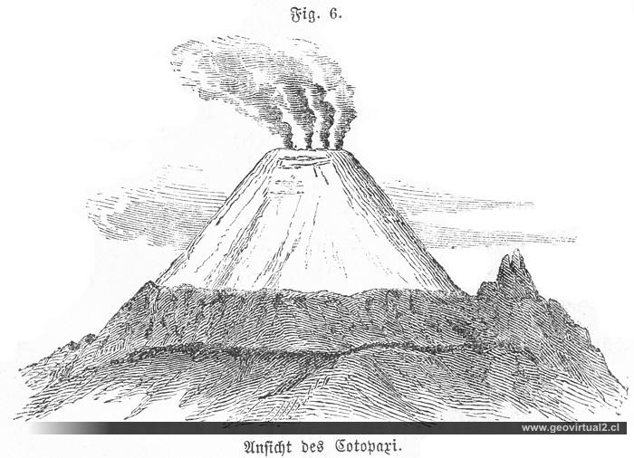 Ferdinand Siegmund 1877 Vista Al Volcán Cotopaxi