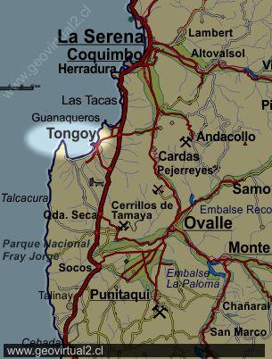Honda San Marcos >> Tongoy en la Región de Coquimbo, Chile